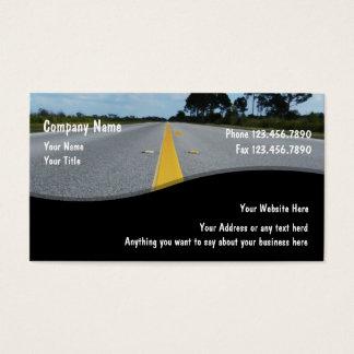 Tarjetas de visita automotrices
