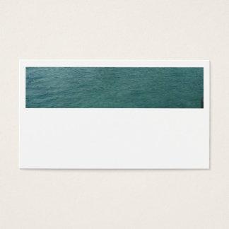 Tarjetas de visita bajas del mar