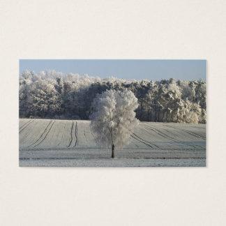 Tarjetas de visita bávaras de Frost