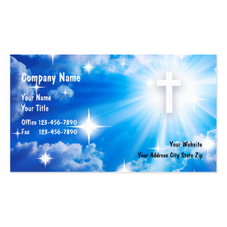 Tarjetas de visita cristianas