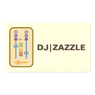 Tarjetas de visita de DJ 2016