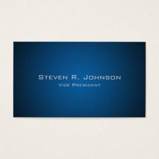 Tarjetas de visita de encargo azul marino