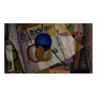 Tarjetas de visita de encargo del EL Rastro de Riv