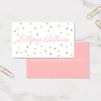 Tarjetas de visita de encargo: Globos del Lollipop