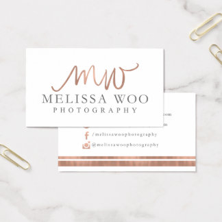 Tarjetas de visita de encargo: Melissa corteja