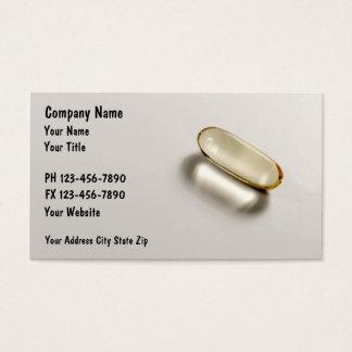 Tarjetas de visita de la farmacia