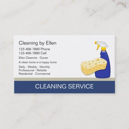 tarjetas de visita de la limpieza zazzle es