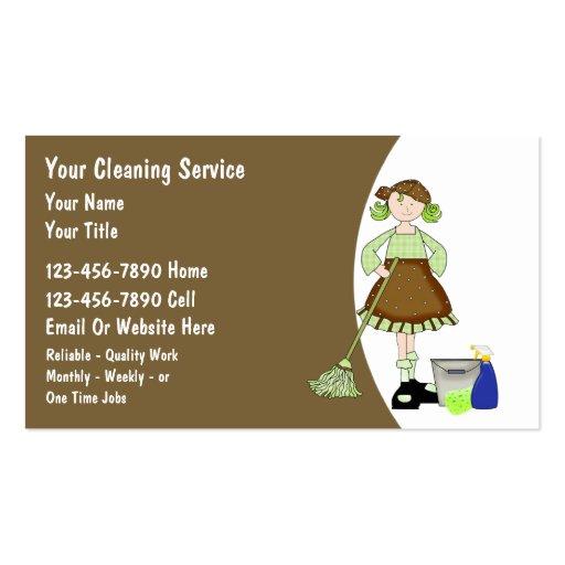 Tarjetas de visita de la limpieza de la casa zazzle - Limpiezas de casas ...