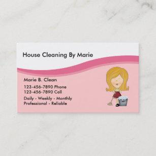 Tarjetas De Visita La Limpieza Casa
