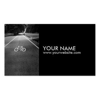Tarjetas de visita de la muestra de la bicicleta 1