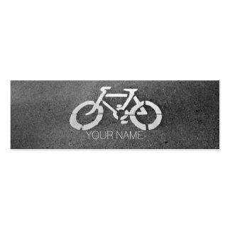 Tarjetas de visita de la muestra de la bicicleta 3