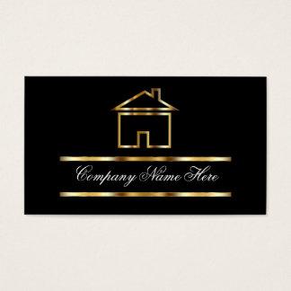 Tarjetas de visita de las propiedades