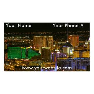 Tarjetas de visita de Las Vegas