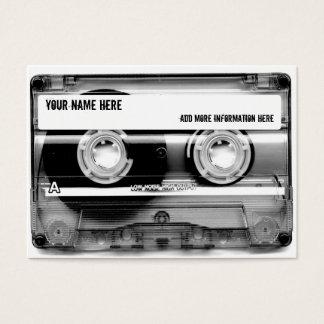 Tarjetas de visita de Mixtape de la cinta de