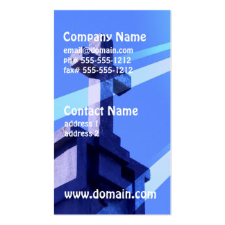 Tarjetas de visita de Prayer Design de señor
