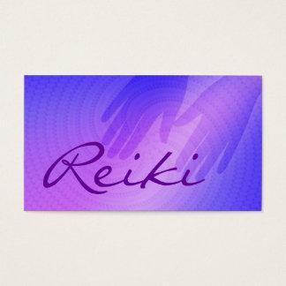 Tarjetas de visita de Reiki