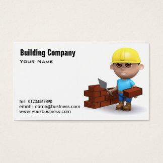 Tarjetas de visita de servicios del edificio