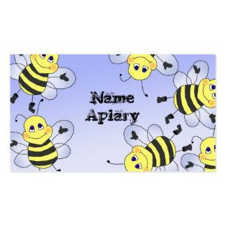 Tarjetas de visita del apicultor