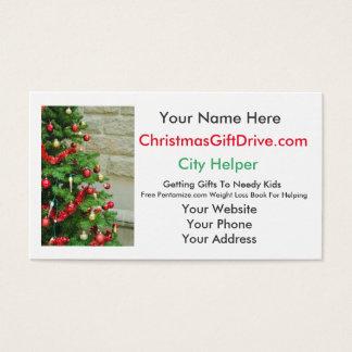 tarjetas de visita del ayudante de la ciudad de