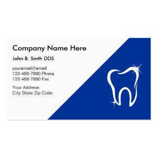 Tarjetas de visita del dentista