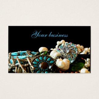 Tarjetas de visita del diseñador de la joyería