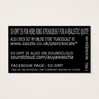 tarjetas de visita del DMT