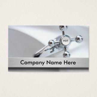 Tarjetas de visita del fontanero