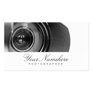 Tarjetas de visita del fotógrafo