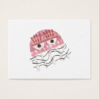 Tarjetas de visita del peine de las medusas