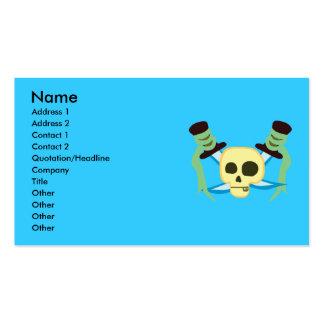 Tarjetas de visita del pirata
