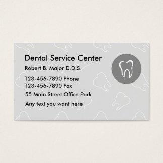 Tarjetas de visita dentales nuevas