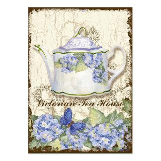 Tarjetas de visita elegantes del té del Shoppe de