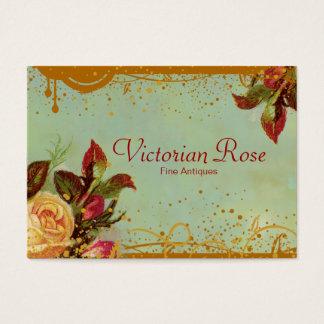 Tarjetas de visita elegantes subiós Victorian