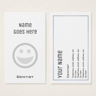 """Tarjetas de visita """"esenciales"""" del dentista"""