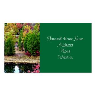 Tarjetas de visita fúnebres o conmemorativas