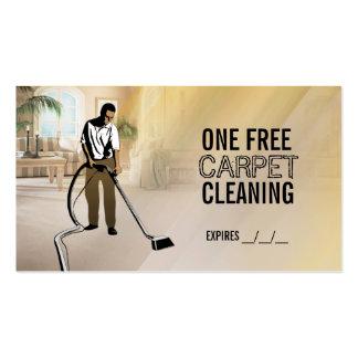 Tarjetas de visita libres de la limpieza de la alf