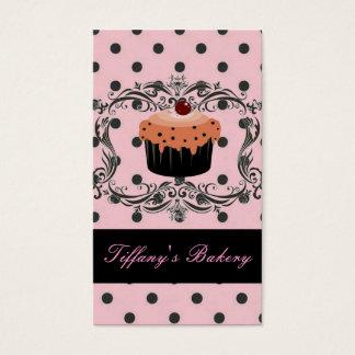 tarjetas de visita lindas de la panadería del