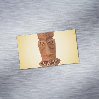 Tarjetas de visita magnéticas de Tiki