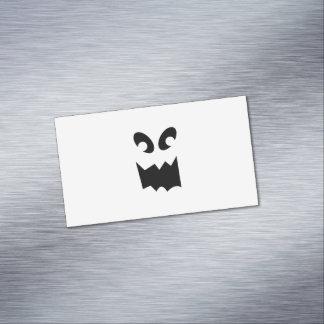 Tarjetas de visita magnéticas del fantasma