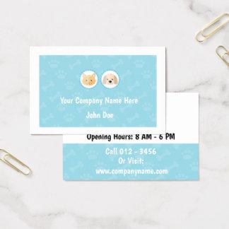 Tarjetas de visita Mascota-Basadas