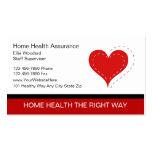 Tarjetas de visita médicas de las tarjetas de visi