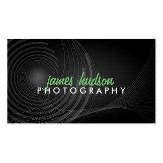 Tarjetas de visita modernas del fotógrafo