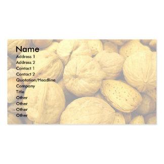 Tarjetas de visita Nuts 001
