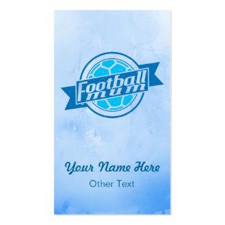 Tarjetas de visita personalizadas momia del fútbol