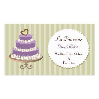 tarjetas de visita púrpuras de los fabricantes del