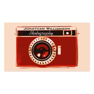 Tarjetas de visita para fotógrafos
