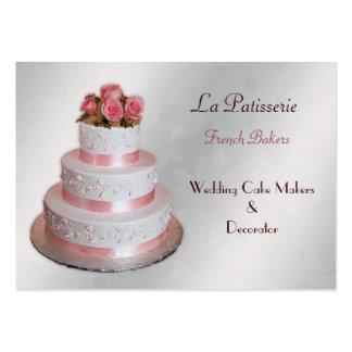 tarjetas de visita rosadas de plata de los fabrica