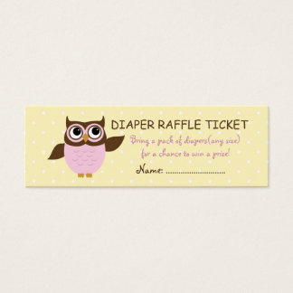 Tarjetas de visita rosadas lindas del boleto de la