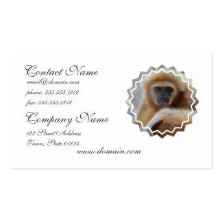 Tarjetas de visita tristes del Gibbon