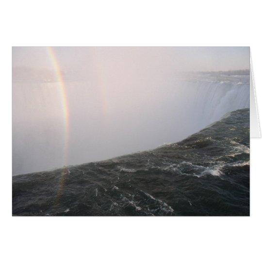 Tarjetas del arco iris de Niagara Falls